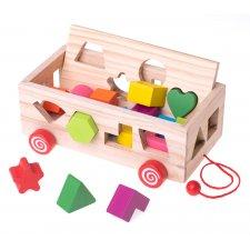 Vzdelávacia hračka Sorter: Tvary